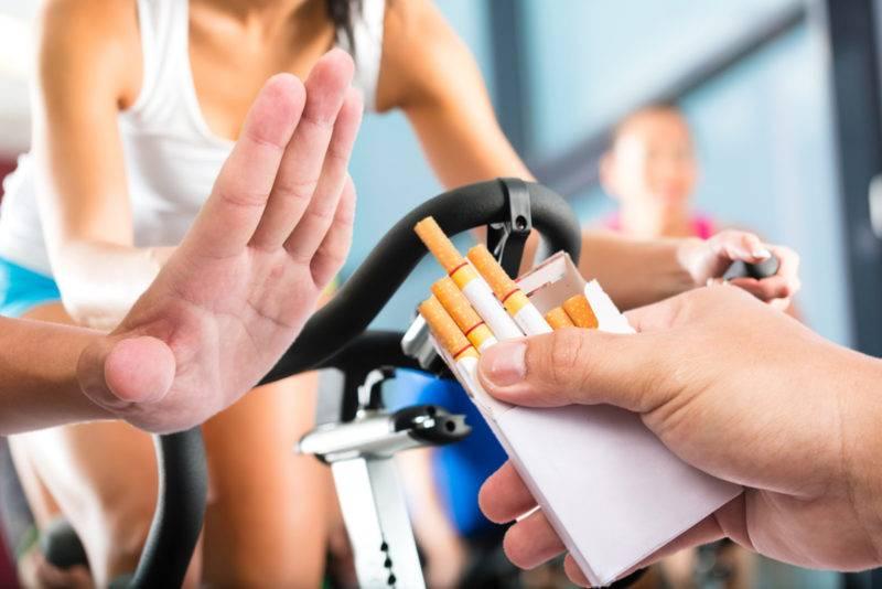 Бодибилдинг и курение – несовместимые вещи