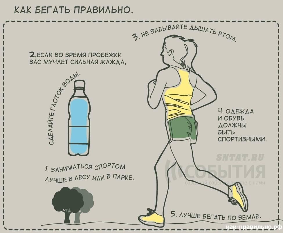 Бег для начинающих, бег по утрам для начинающих, занятия бегом для начинающих, бег для начинающих таблица | wolf workout