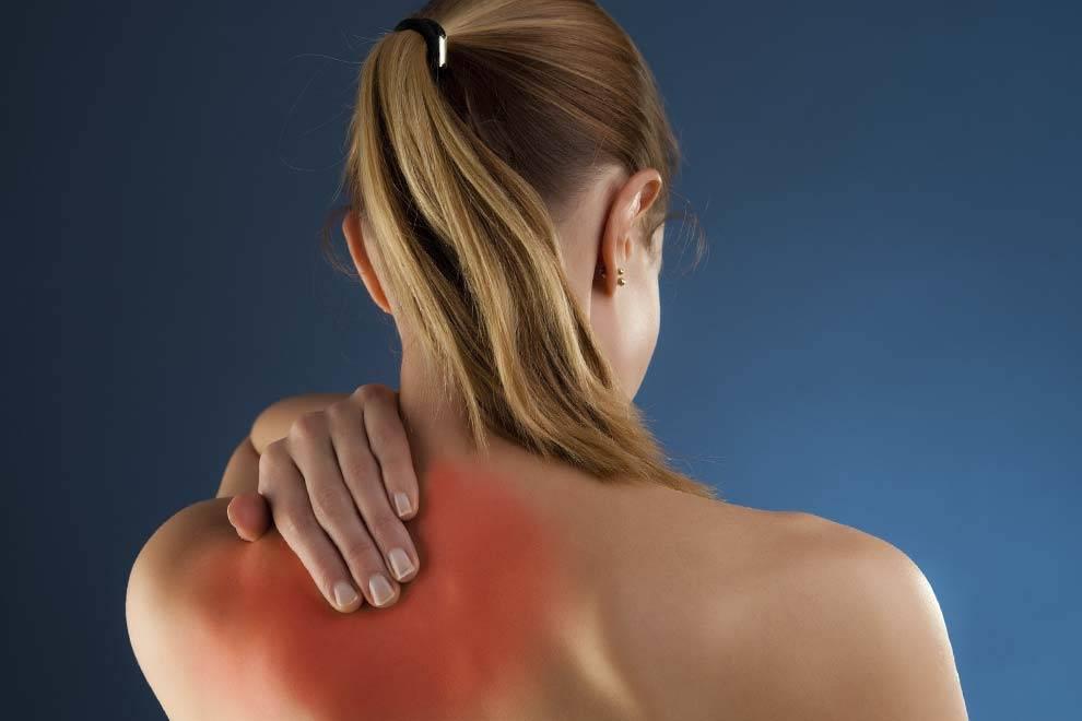 Боль в правой лопатке - причины, виды болей, профилактика