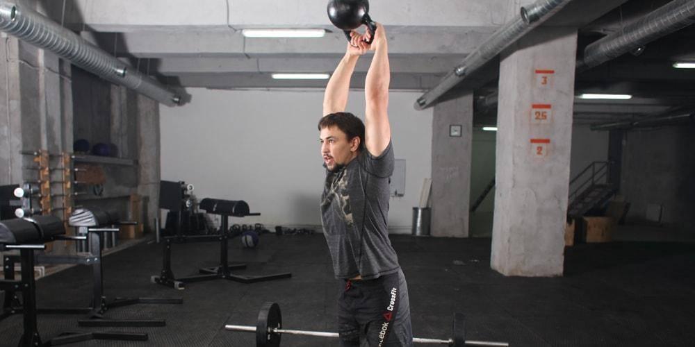 Кроссфит тренировки и упражнения с гирями