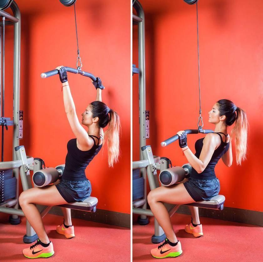 Упражнения для мышц спины и позвоночника в тренажерном зале