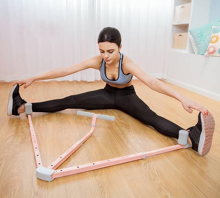 Тренажёр для растяжки спины, мышц, ног на шпагат в домашних условиях