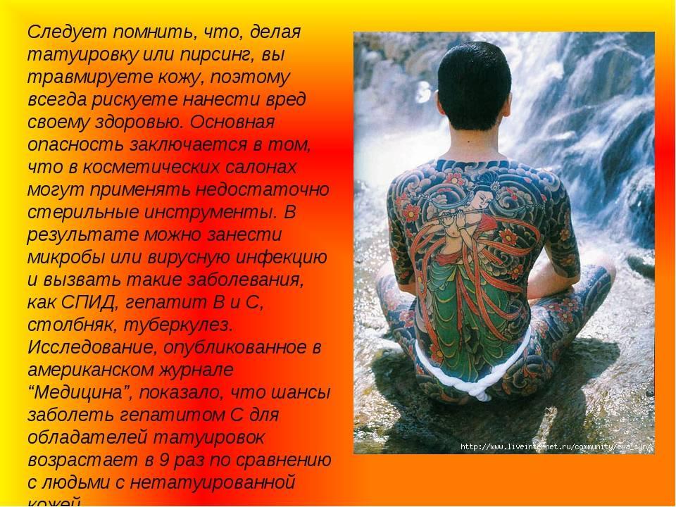 Отзывы и опрос о татуировках
