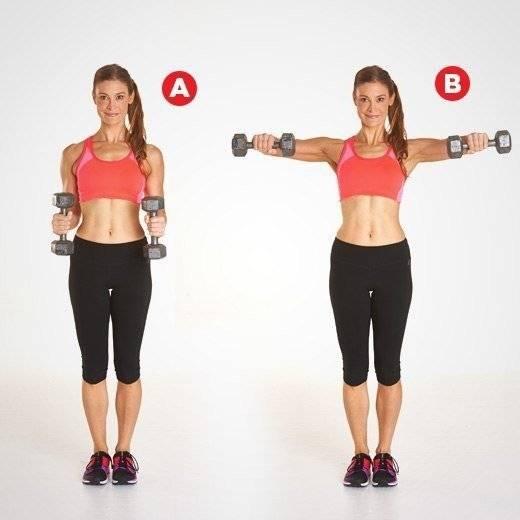 Лучшие упражнения для похудения рук и подтяжки мышц в домашних условиях, чтобы не висела кожа выше локтя