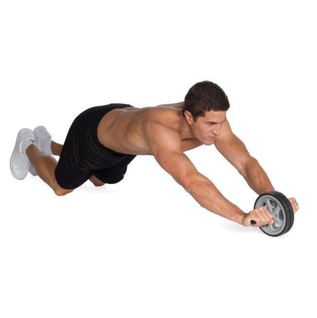 Упражнения с роликом для пресса. как выбрать гимнастический ролик
