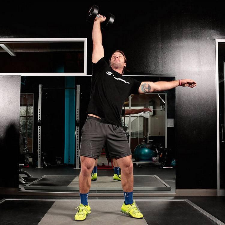 Упражнения со штангой: комплекс для развития навыков работы при высоких частотах сердцебиения