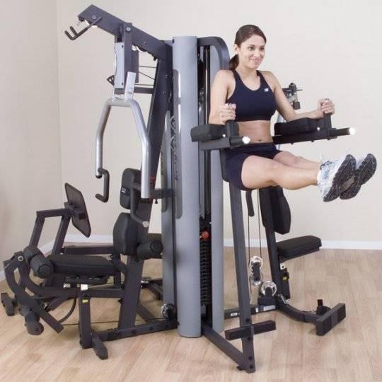 Домашняя мультистанция – один тренажер вместо целого спортзала