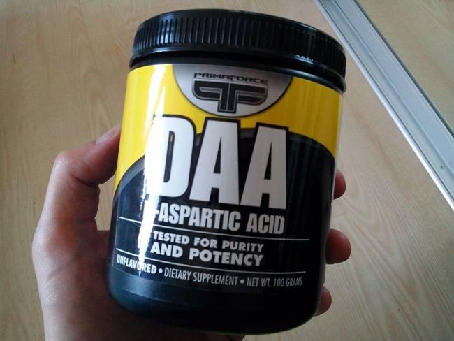D-аспарагиновая кислота: повышает ли она тестостерон?