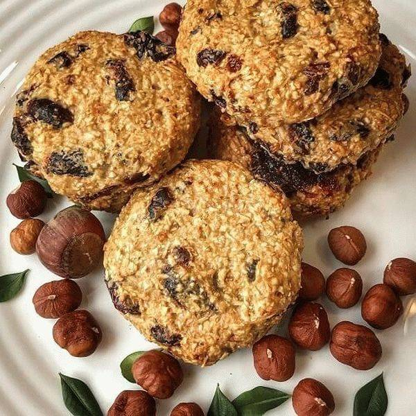 Низкокалорийное овсяное печенье: пп-рецепты