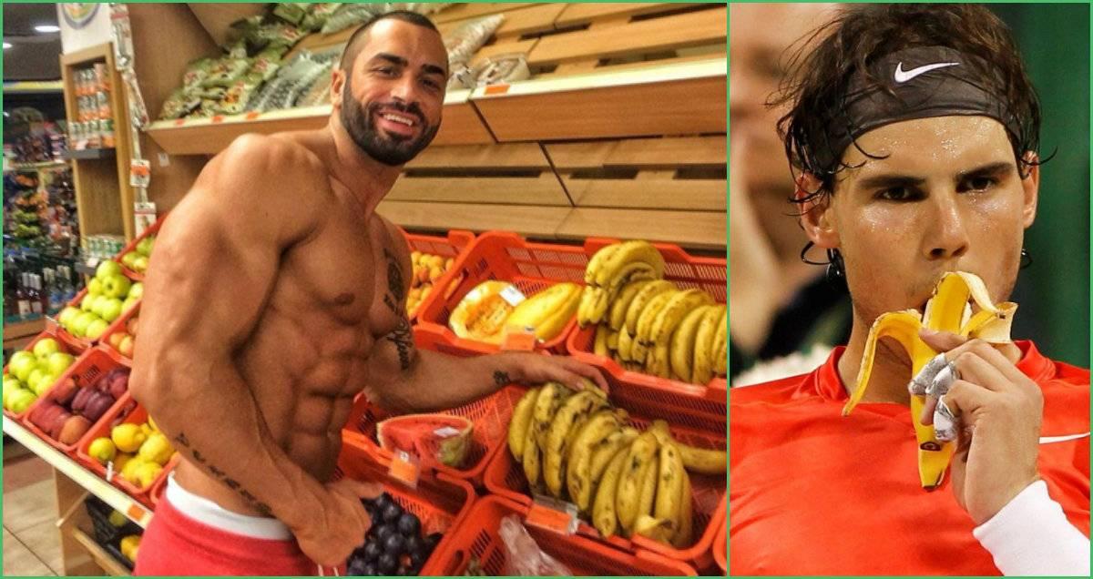Почему бананы полезны для спортсменов