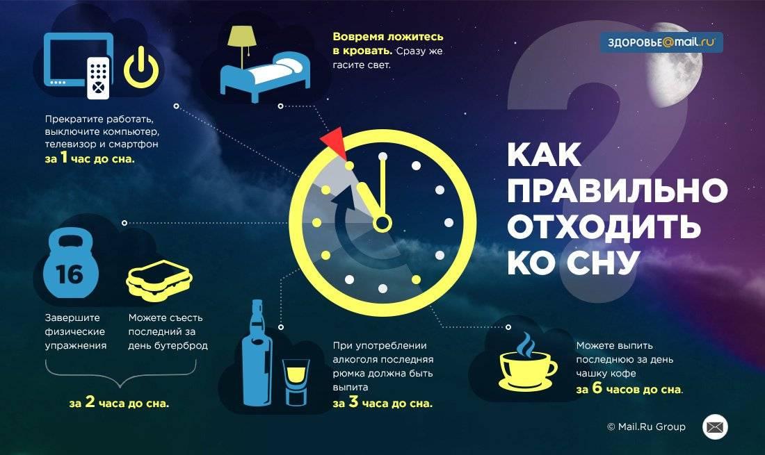 Как улучшить сон и повысить качество сна взрослого человека