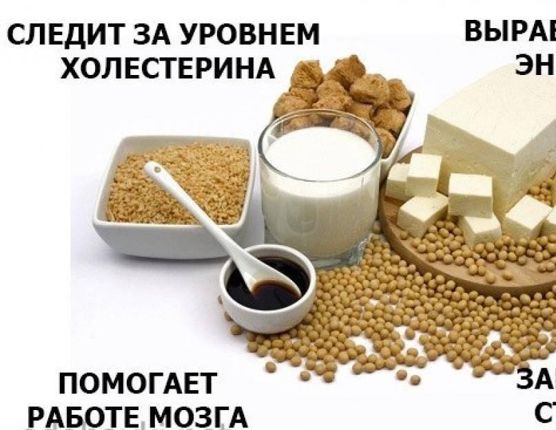 Польза и вред сои для женщин разных возрастов