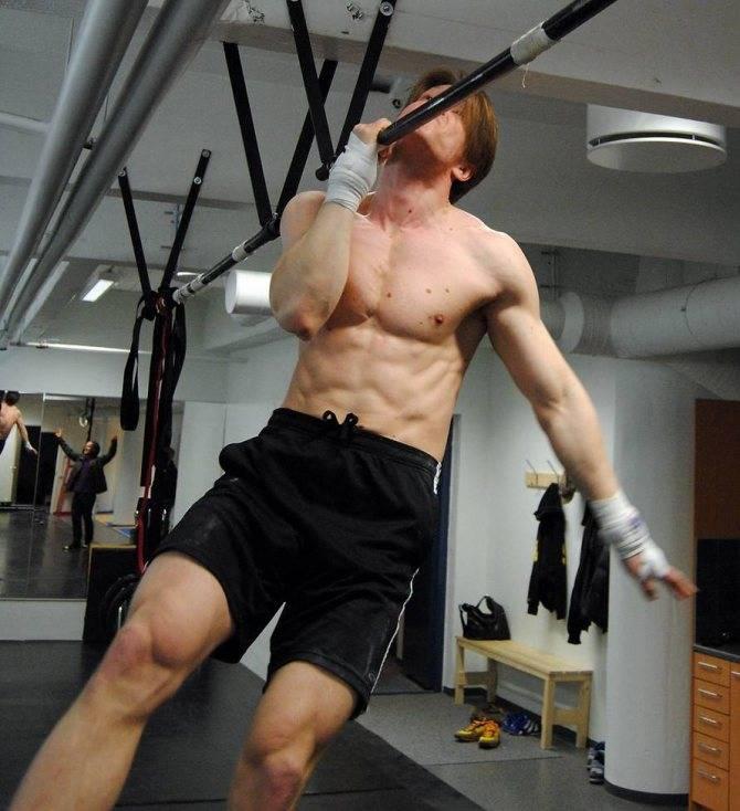 Подтягивания - workout russia