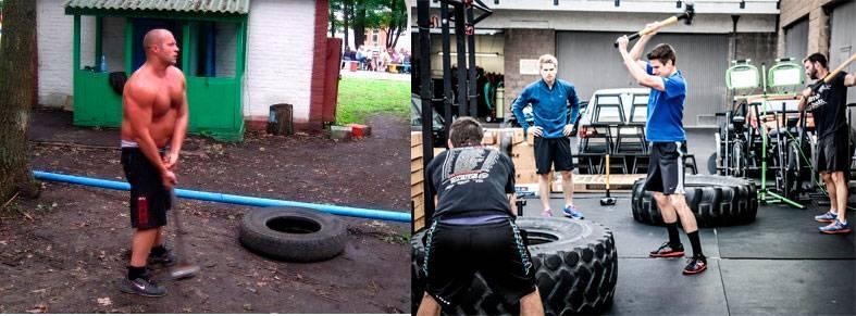 Кувалда для тренировок булава st 2290 (10 кг)