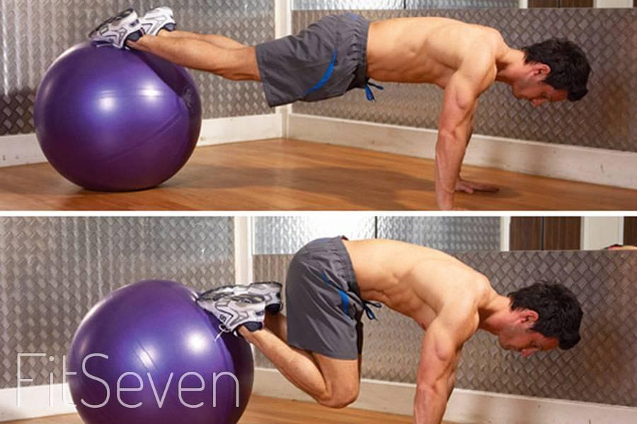 10 лучших упражнений с фитболом для мышц всего тела