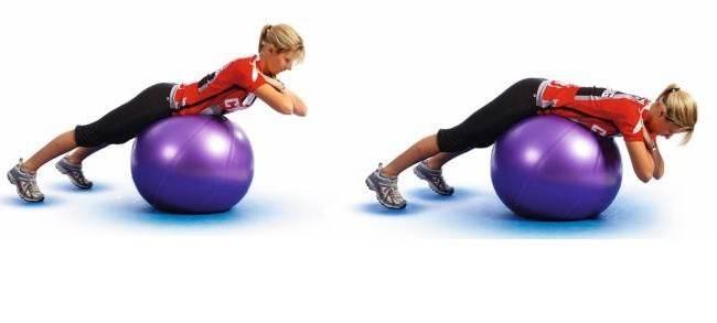Лучшие упражнения на фитболе для здоровья спины и позвоночника