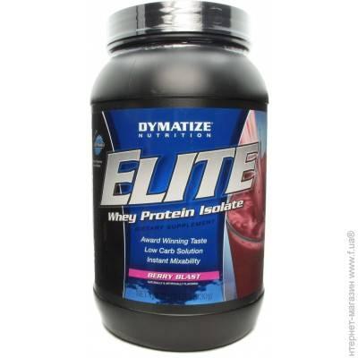 Elite whey protein от dymatize nutrition
