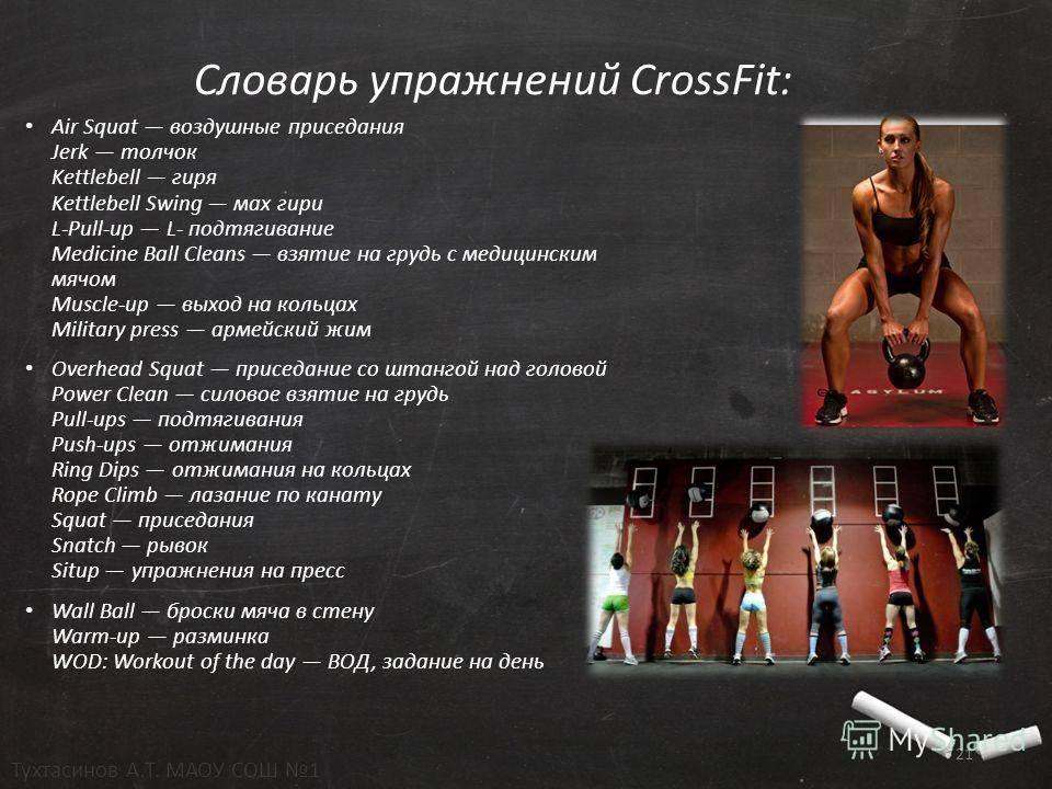 Тренировки кроссфит. новая программа тренировок crossfit
