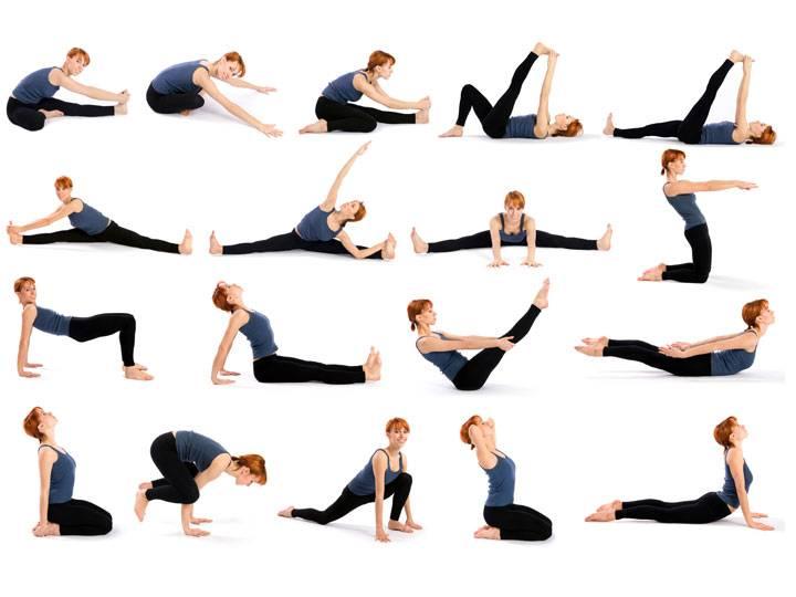 Растяжка для начинающих в домашних условиях, список упражнений