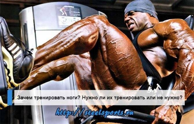 Правда о том, можно ли качать ноги каждый день - tony.ru