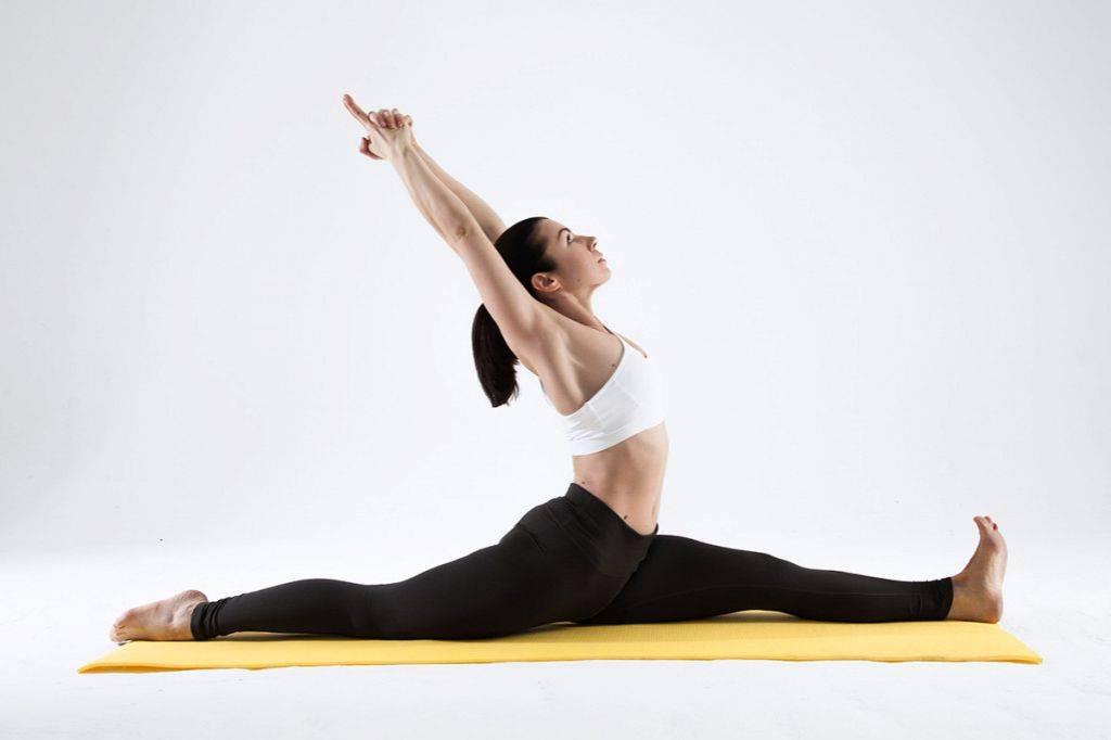 Растяжка на шпагат. фитнес для танцоров