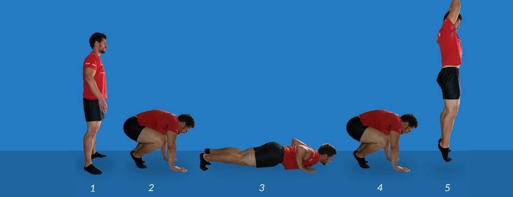 Берпи: техника выполнения самое эффективного упражнения для похудения