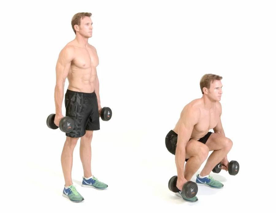 Упражнения с гантелями на ноги и ягодицы: эффективная программа на мышцы бедер для женщин