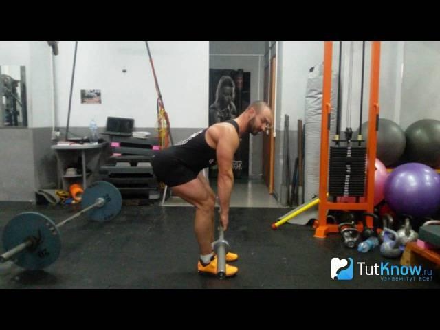 Мёртвая (румынская) тяга: правильная техника выполнения