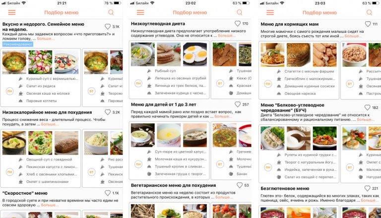 Буч диета: описание, меню на неделю и противопоказания