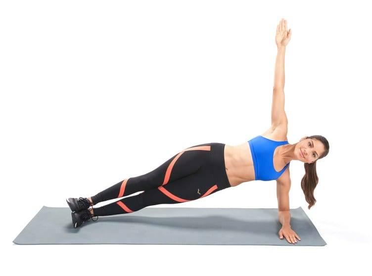 Боковая планка - как делать, какие мышцы работают