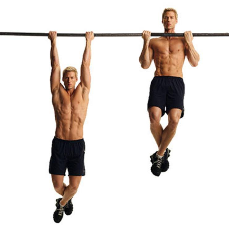 Как накачать мышцы на турнике. как качать мышцы при помощи турника