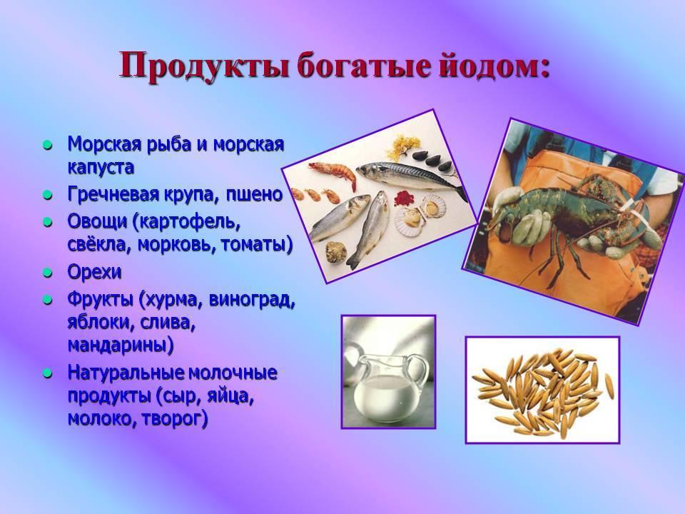 Роль йода в организме человека. переизбыток и дефицит йода