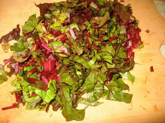 Свекольные листья рецепты салатов