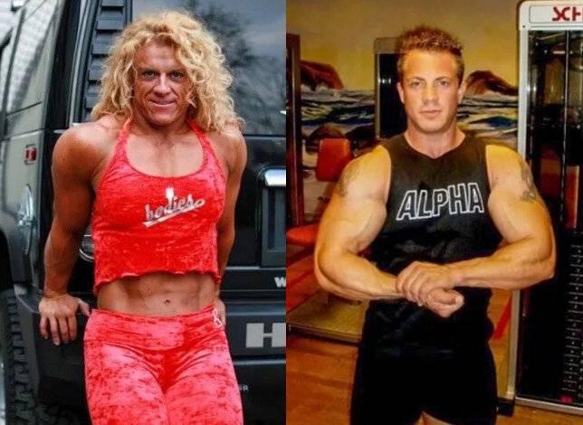6 красочных фото о том, что происходит с бодибилдерами после отмены стероидов