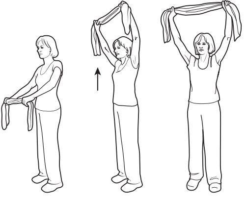 Упражнения для растяжки рук и плеч