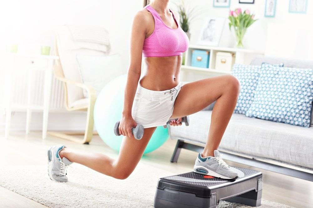 Женские фитнес-упражнения