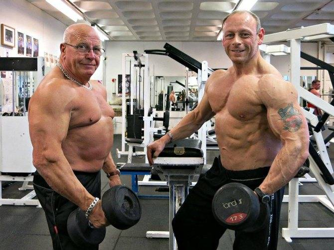 Тренировки после 50 лет, возрастной бодибилдинг