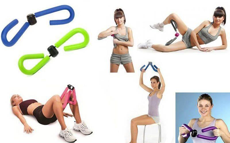 Тренажер бабочка для тренировки мышц ног и рук.