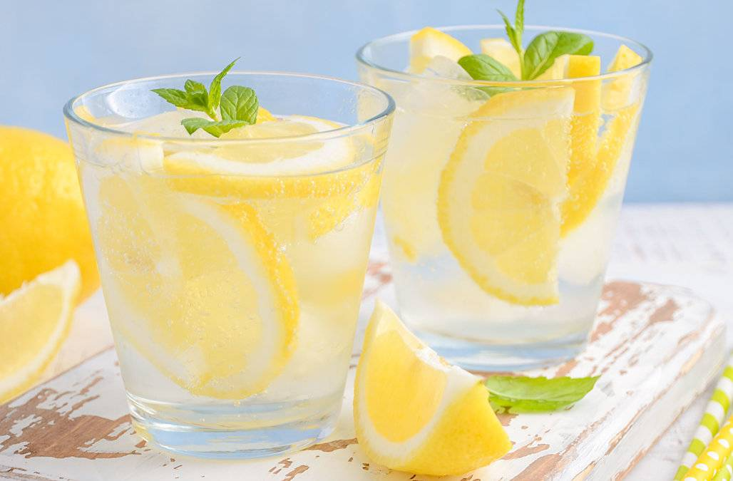 Вода для похудения с лимоном и медом натощак