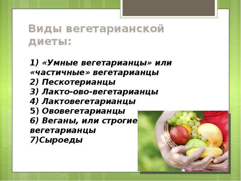 Веганская диета, меню для похудения - medside.ru