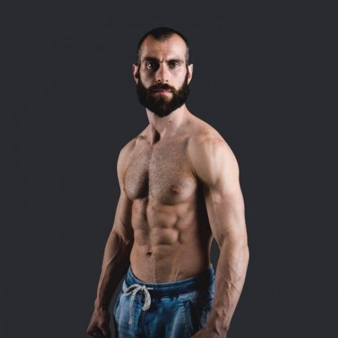 Гога Тупурия - бииография силового атлета, фитнес тренера из Грузии