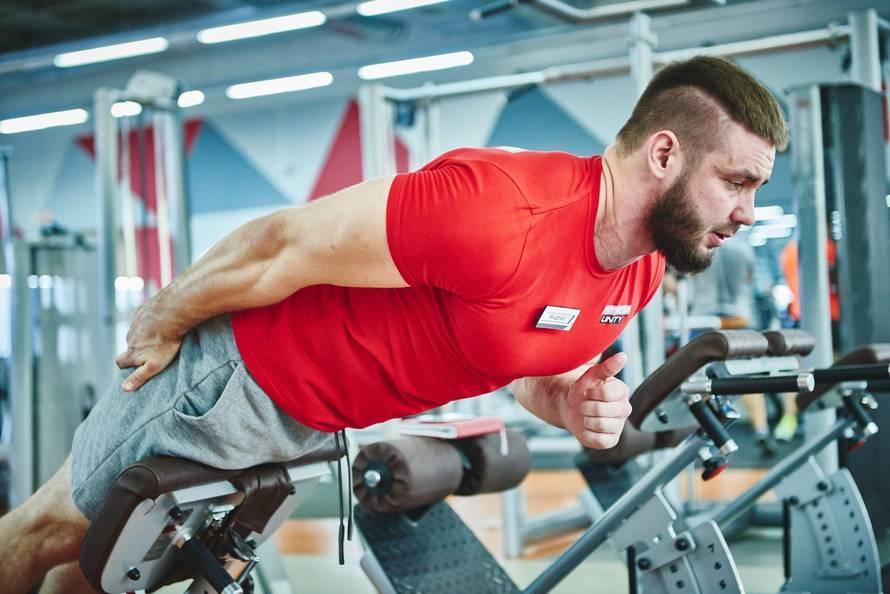 Тренировка для укрепления мышц спины в тренажерном зале: программа для начинающих
