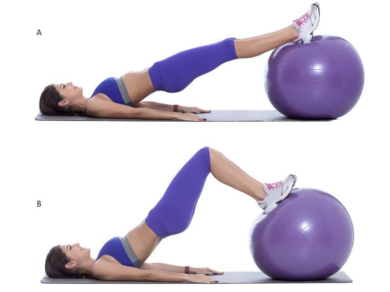 Упражнения для развития силы на мяче (фитболе)   fpa