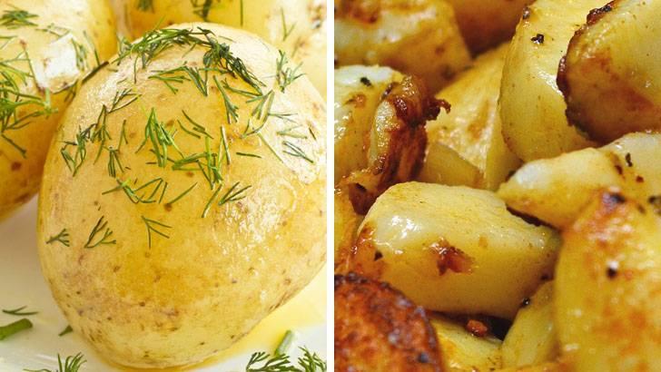 Калорийность картофеля на сто грамм
