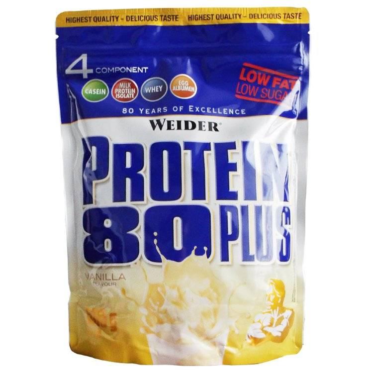Состав и схема приема протеинового комплекса 80 плюс