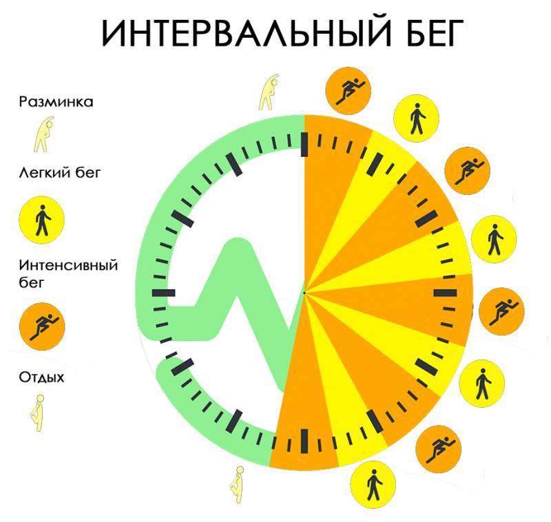 Интервальный бег: тренировка для сжигания жира, особенности программы и рекомендации