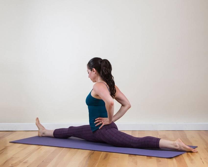 Продольный шпагат: упражнения в домашних условиях