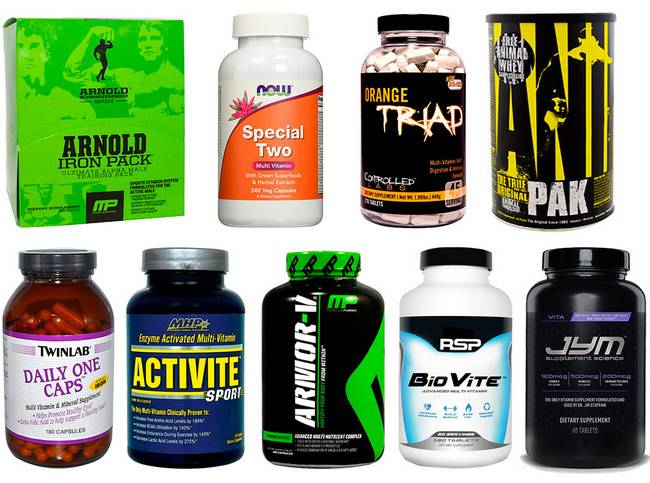Витамины для спортсменов: рейтинг препаратов на 2018 год