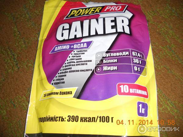 Pro complex gainer от optimum nutrition: гейнер чистой массы