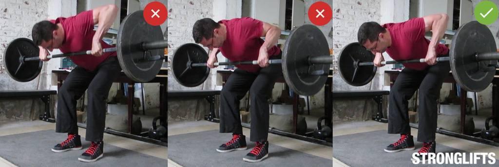 Способы выполнения тяги гантелей в наклоне, полезные рекомендации
